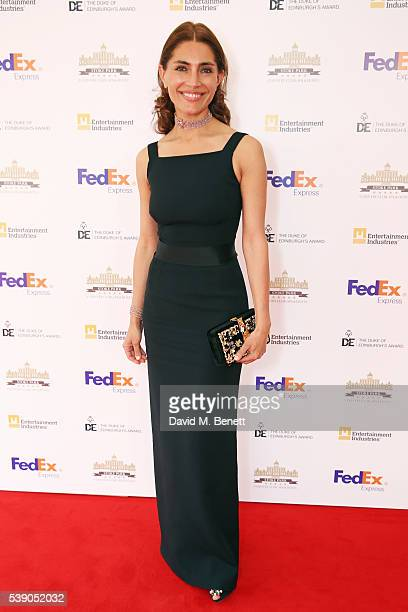 Caterina Murino attends the Duke of Edinburgh Award 60th Anniversary Diamonds are Forever Gala at Stoke Park on June 9 2016 in Guildford England