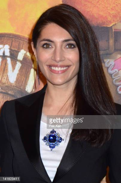 Caterina Murino attends 'The Pirates Band of Misfits' Paris Premiere at the Cinema Gaumont Marignan on March 18 2012 in Paris France