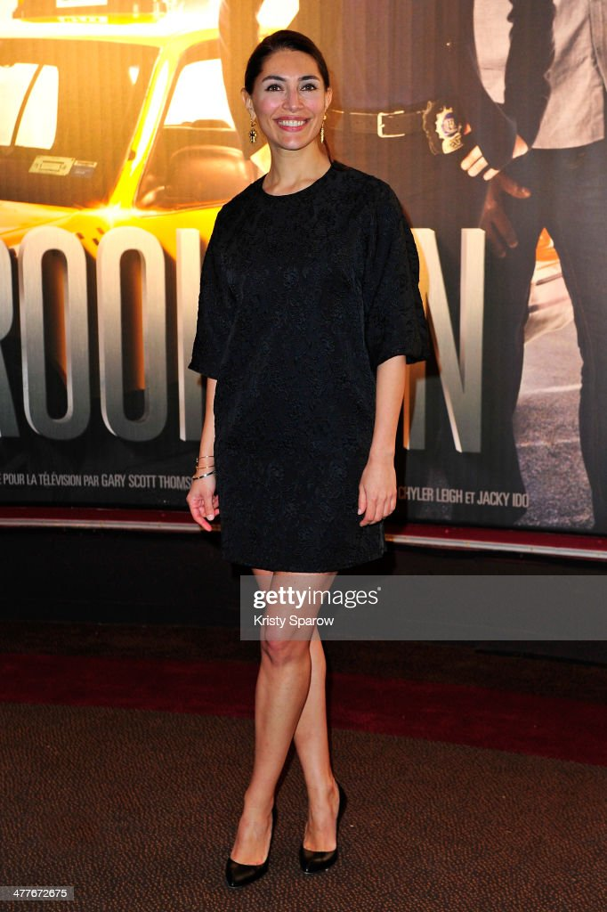 <a gi-track='captionPersonalityLinkClicked' href=/galleries/search?phrase=Caterina+Murino&family=editorial&specificpeople=619334 ng-click='$event.stopPropagation()'>Caterina Murino</a> attends the 'Taxi Brooklyn' Paris premiere at Cinema Gaumont Marignan on March 10, 2014 in Paris, France.