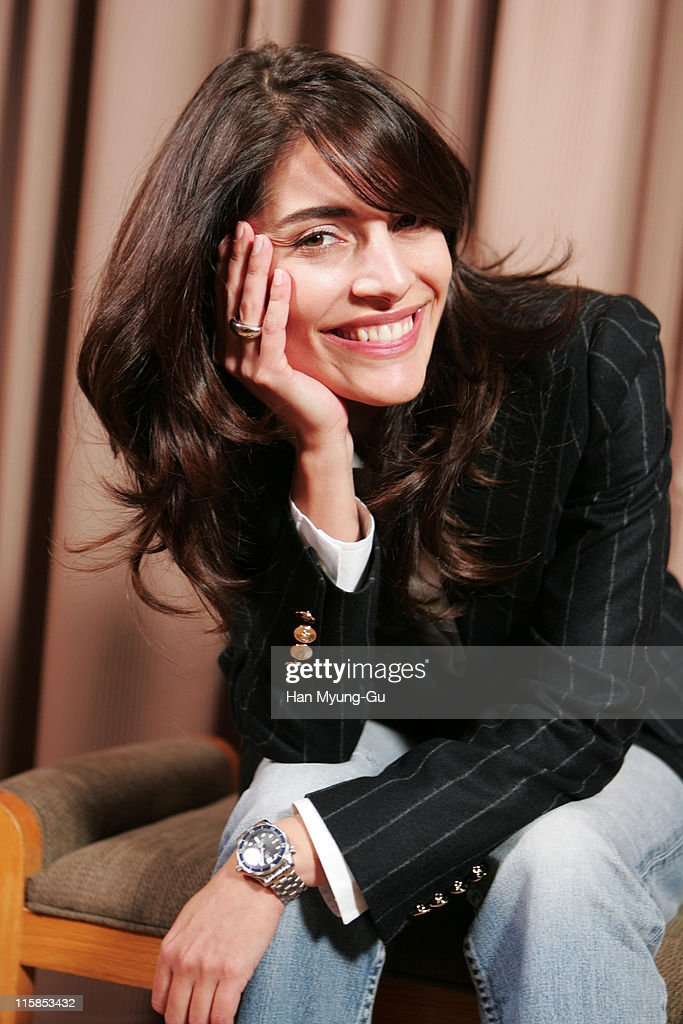 <a gi-track='captionPersonalityLinkClicked' href=/galleries/search?phrase=Caterina+Murino&family=editorial&specificpeople=619334 ng-click='$event.stopPropagation()'>Caterina Murino</a> during 'Casino Royale' Portrait Session in Seoul at Shilla Hotel in Seoul, South Korea.
