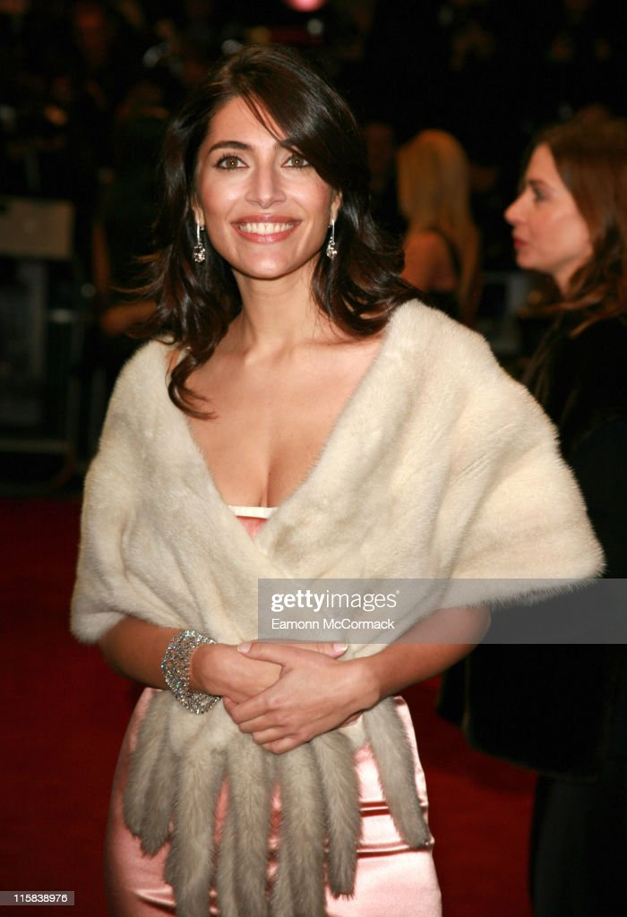 <a gi-track='captionPersonalityLinkClicked' href=/galleries/search?phrase=Caterina+Murino&family=editorial&specificpeople=619334 ng-click='$event.stopPropagation()'>Caterina Murino</a> during 'Casino Royale' World Premiere - Outside Arrivals at Odeon Leicester Square in London, Great Britain.