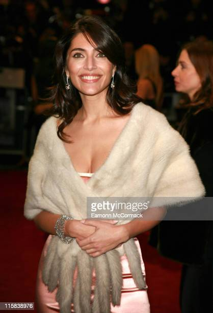 Caterina Murino during 'Casino Royale' World Premiere Outside Arrivals at Odeon Leicester Square in London Great Britain
