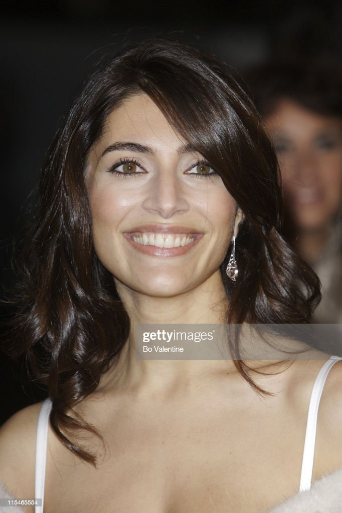 <a gi-track='captionPersonalityLinkClicked' href=/galleries/search?phrase=Caterina+Murino&family=editorial&specificpeople=619334 ng-click='$event.stopPropagation()'>Caterina Murino</a> during ''Casino Royale'' World Premiere - Red Carpet at Odeon Leicester Square in London, Great Britain.