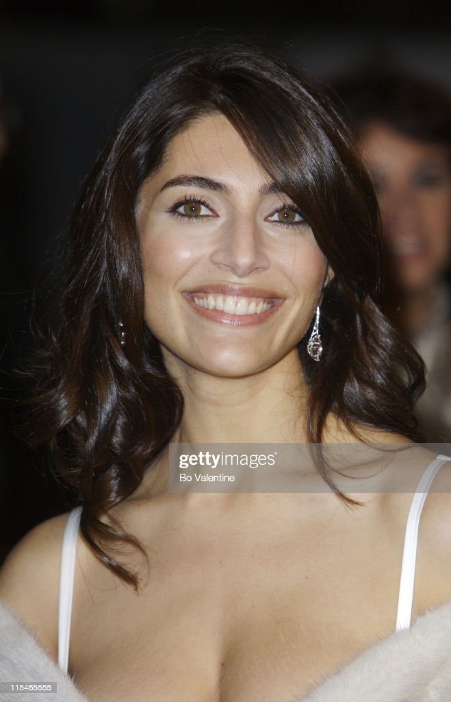 Caterina Murino during ''Casino Royale'' World Premiere - Red Carpet at Odeon Leicester Square in London, Great Britain.