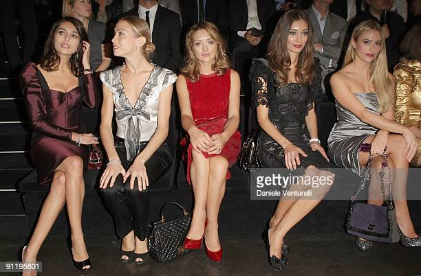 Caterina Murino Eleonora Abbagnato Carolina Crescentini Margaret Made Martina Stella attend the Dolce Gabbana show as part of Milan Womenswear...