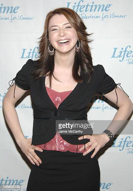Caterina Scorsone during 2005/2006 Lifetime Television UpFront at Grand Hyatt Hotel in New York City New York United States