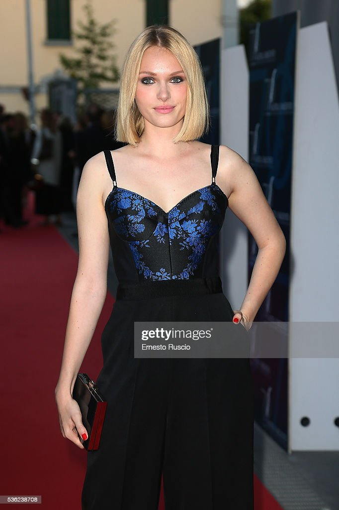 Caterina Shulha attends the Nastri D'Argento 2016 Award Nominations at Maxxi Museum on May 31, 2016 in Rome, Italy.