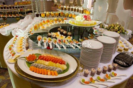 Catering Buffet Dessert Wedding Stock Photo Thinkstock