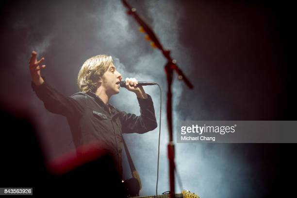 Catfich and the Bottlemen's Van McCann performs at The Amphitheater at the Wharf on September 6 2017 in Orange Beach Alabama