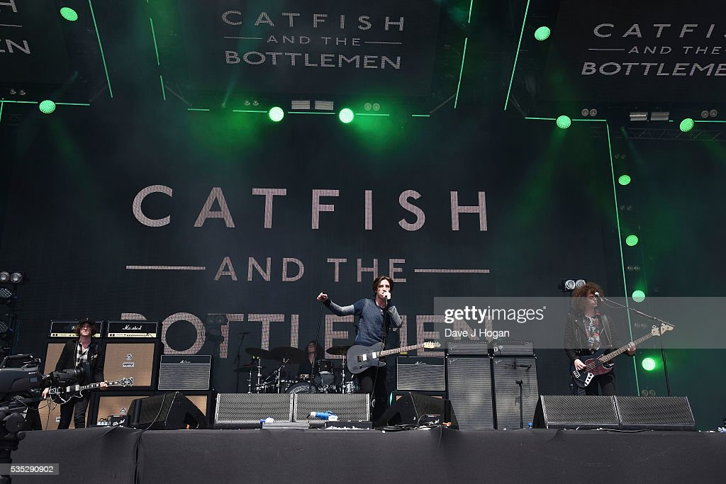 Catfish And The Bottlemen perform during day 2 of BBC Radio 1's Big Weekend at Powderham Castle on May 29, 2016 in Exeter, England.