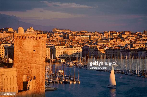 Cathar country Marseille France The Old Harbor in Marseilles was often been disputed in the XIIIth century between the Catalan count of Provence and...