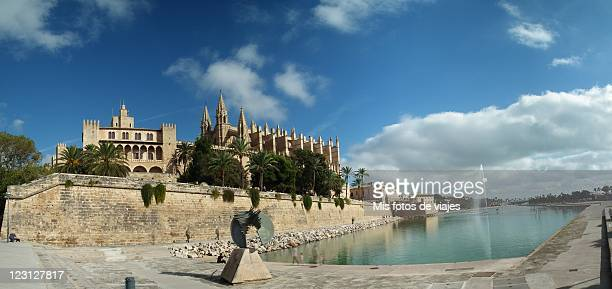 Cathedral and castle Almudaina