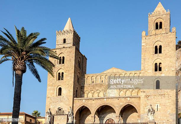 Cathedral Basilica of Cefalu, Palermo, Sicily, Italy