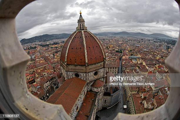 Cathedral from Giotto's Campanil, Florence