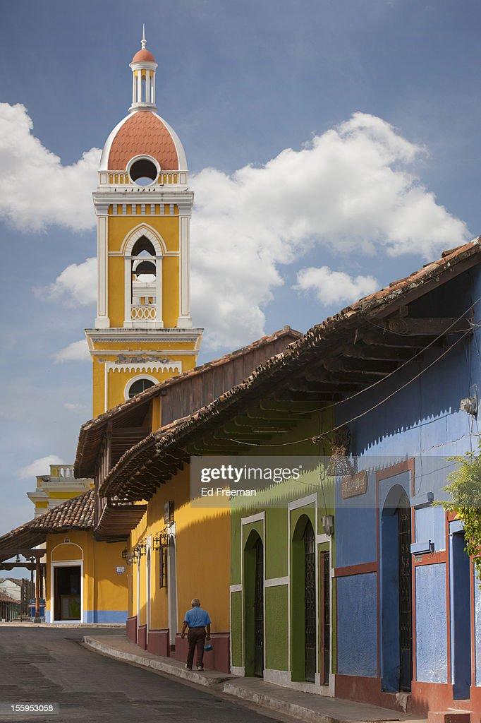 Cathedral, Granada, Nicaragua : Stock Photo