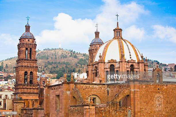 Cathedral in a city, Zacatecas State, Mexico