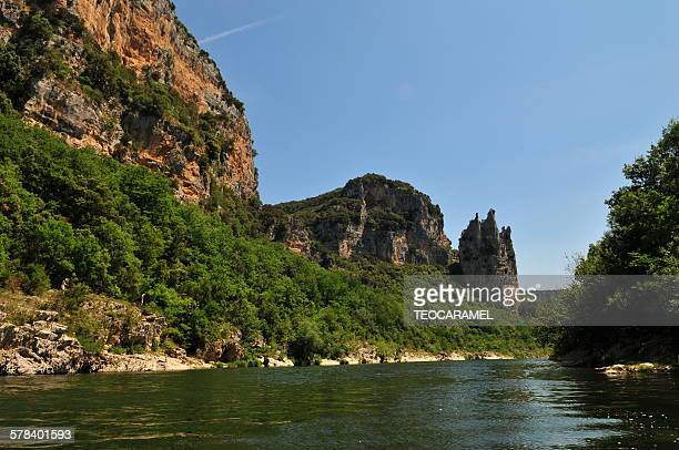 Cathedral, in Ardeche gorge