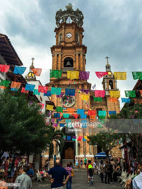 Cathedral in old Puerto Vallarta, Mexico