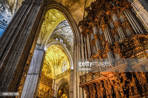 Cathedral Interior - Seville, Spain