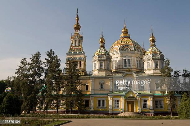 Cathedral of holy ascension, Almaty