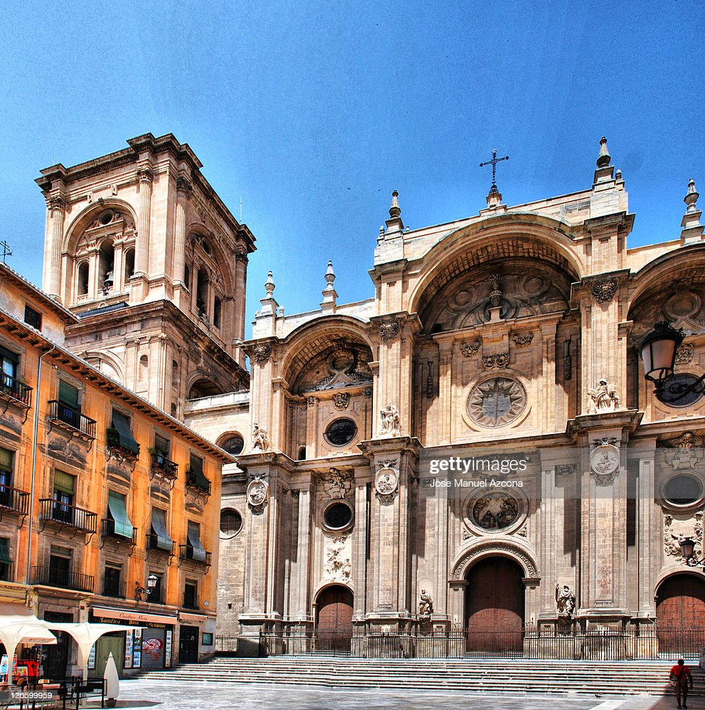Cathedral of Incarnation, Granada : Stock Photo