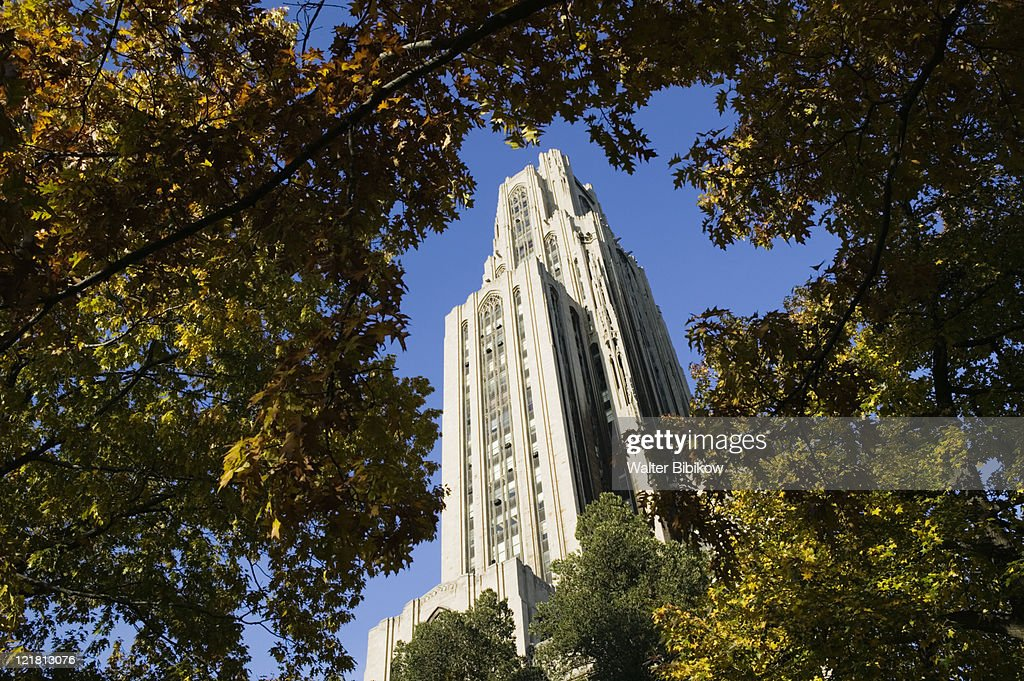 Cathedral of Learning Tower, University of Pittsburgh  : Stock Photo