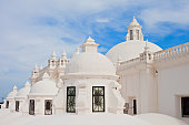 The whitewashed roof of the Cathedral of León (Basilica Catedral de la Asuncion).
