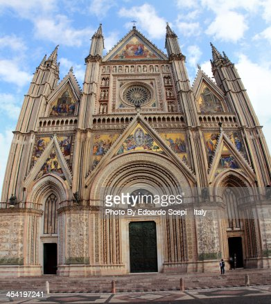 Cathedral of Orvieto : Foto de stock