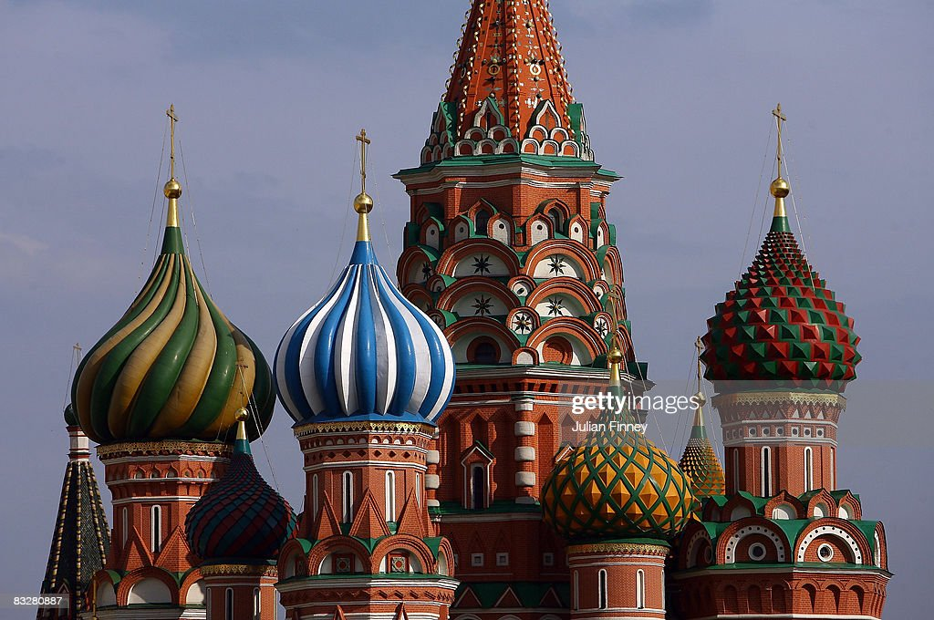 Cathedral of Saint Basil on the Red Square on May 18, 2008 in Moscow, Russia.