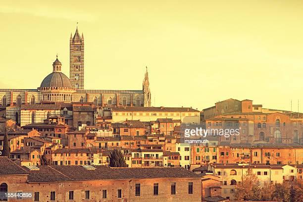 Cattedrale di Siena al tramonto