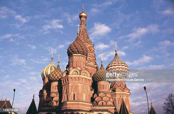Cathedral of St Basil the Blessed Moscow Russia