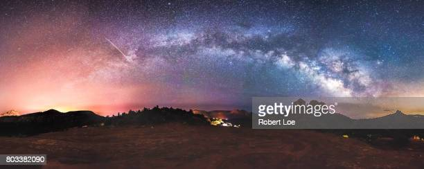 Cathedral Rock Milky Way Panorama