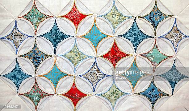 Cathedral Windows Quilted Pattern