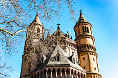 Worms City Cathedral Germany