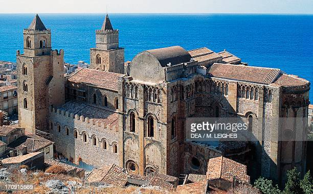 CathedralBasilica of Cefalu' Cefalu' Sicily Italy