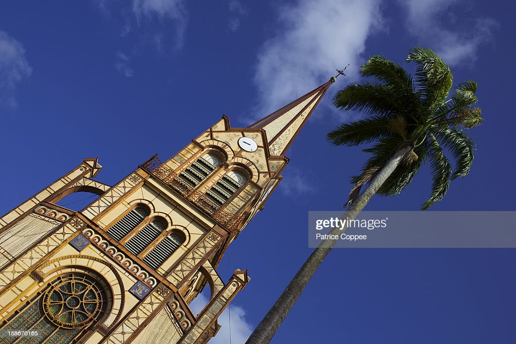 Cathedrale Fort de France : Stock Photo