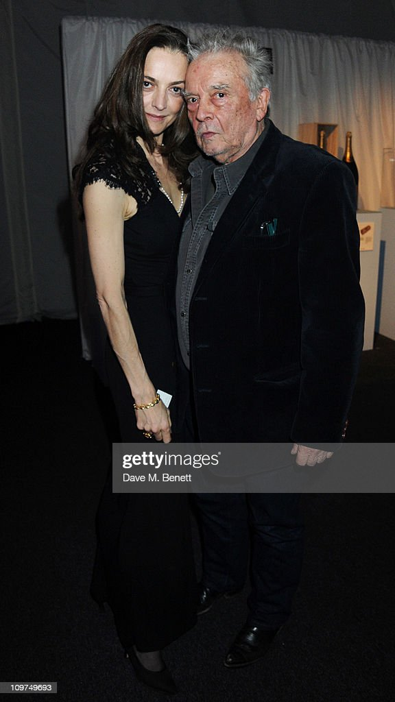 Catherine and David Bailey attend the Ice Diamonds SendOff Ball in aid of Walking With The Wounded at Battersea Power station on March 3 2011 in...