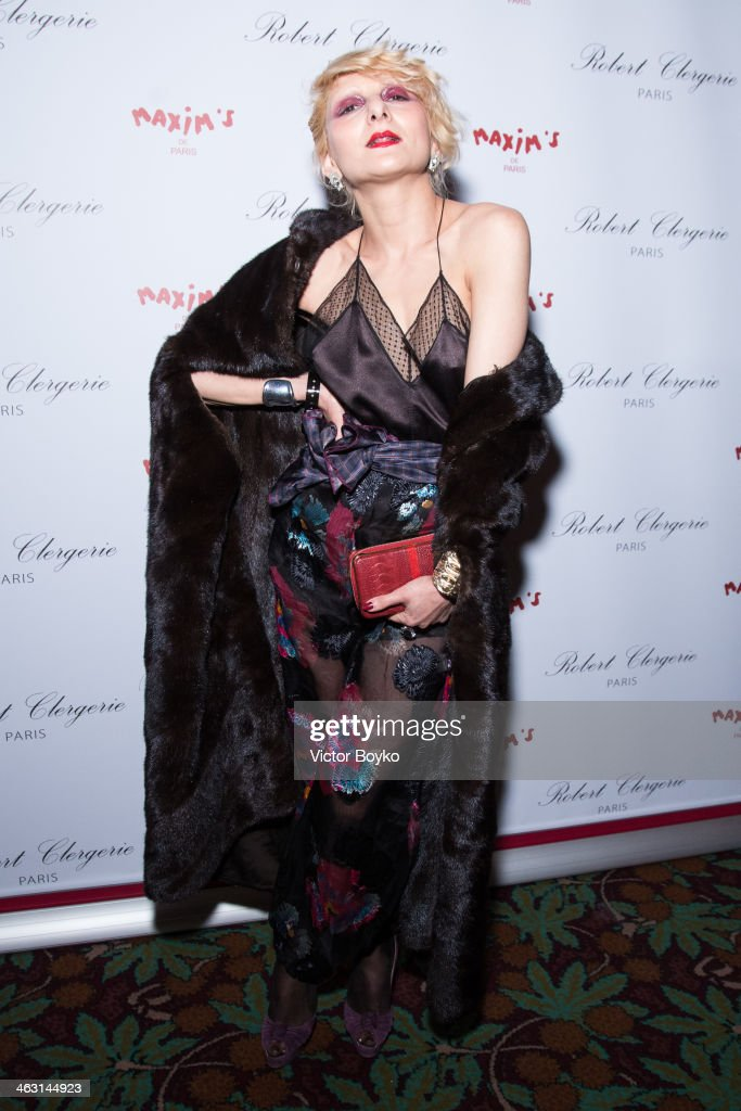Catherine Baba attends the celebration launch of first Robert Clergerie Homme Menswear Fall/Winter 2014-2015 collection as part of Paris Fashion Week on January 16, 2014 in Paris, France.