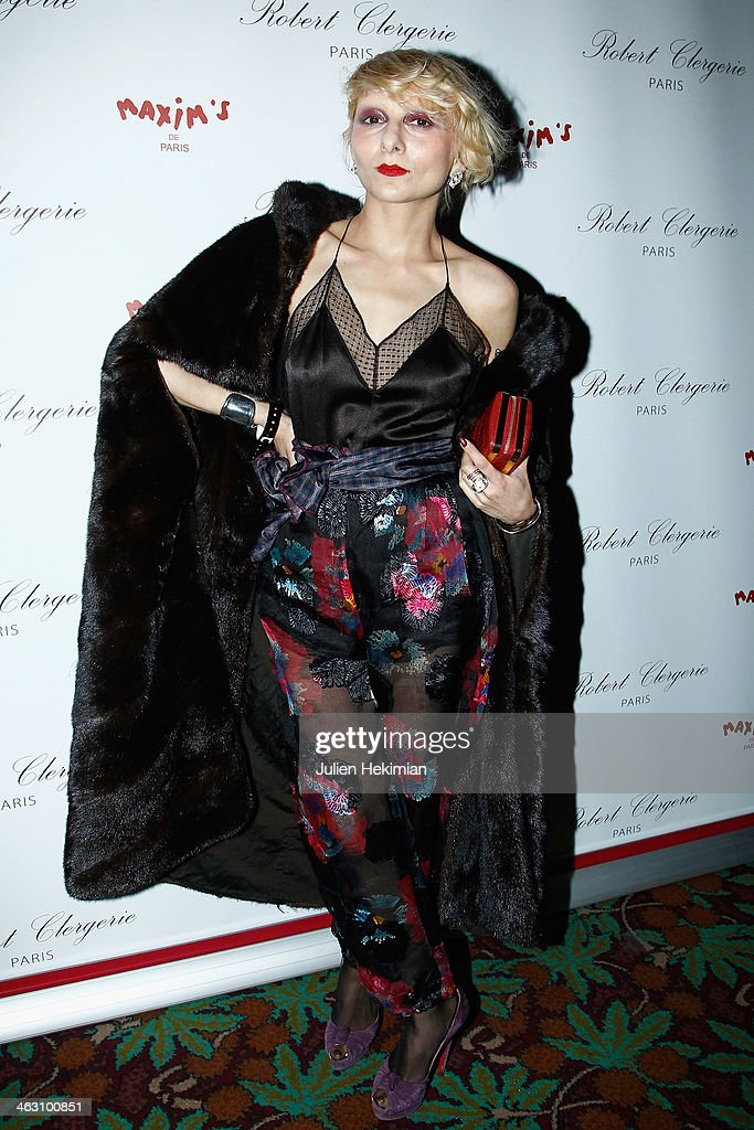 Catherine Baba attends the Robert Clergerie and Roland Mouret Cocktail Party as part of Paris Fashion Week on January 16, 2014 in Paris, France.
