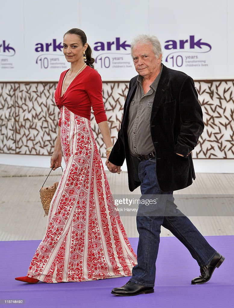 Catherine Bailey and David Bailey attend the 10th Annual ARK gala dinner at Kensington Palace on June 9 2011 in London England