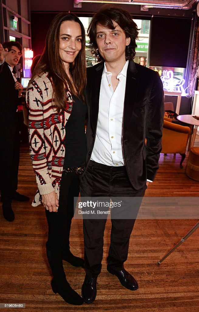 Catherine Bailey and Fenton Bailey attend a private view of 'Fentoscope Camera Shy' presented by Fenton Bailey and supported by Crystal Head Vodka at...