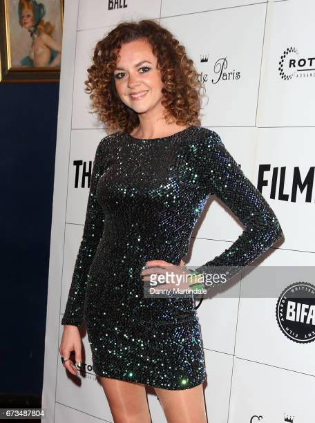 Catherine Bailey attends the Independent Filmmaker's Ball on April 26 2017 in London United Kingdom