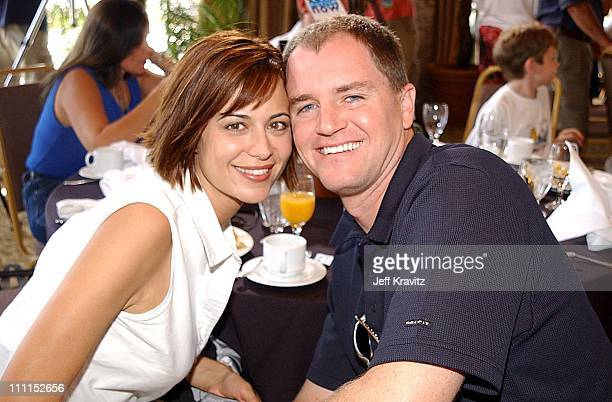 Catherine Bell Adam Beason during The 2nd Annual Cure Autism Now Celebrity Golf Classic in Santa Clarita California United States
