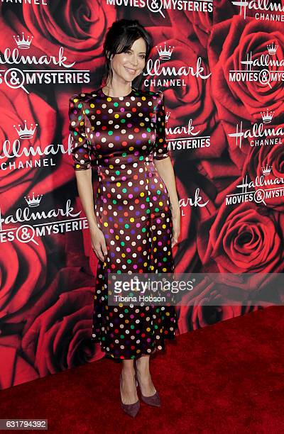 Catherine Bell attends Hallmark Channel Movies and Mysteries Winter 2017 TCA Press Tour at The Tournament House on January 14 2017 in Pasadena...