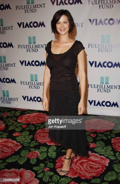 Catherine Bell during 2003 Fulfillment Fund's Annual 'Stars 2003' Benefit Gala at Beverly Hilton Hotel in Beverly Hills California United States