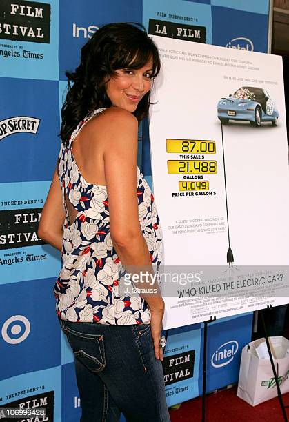 Catherine Bell during 2006 Los Angeles Film Festival 'Who Killed The Electric Car' Screening and 'Green Day' Fair at Westwood in Westwood California...