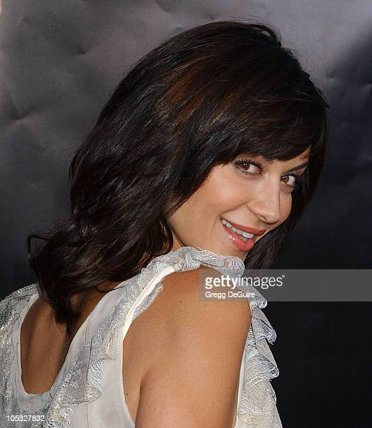 Catherine Bell during 'Collateral' Los Angeles Premiere Arrivals at Orpheum Theatre in Los Angeles California United States