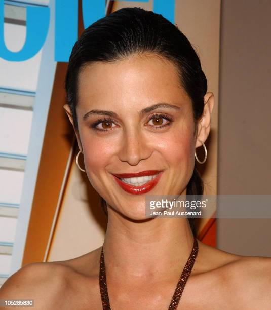 Catherine Bell during Conde Nast Traveler Hot Nights Los Angeles Arrivals at Spider Club in Hollywood California United States