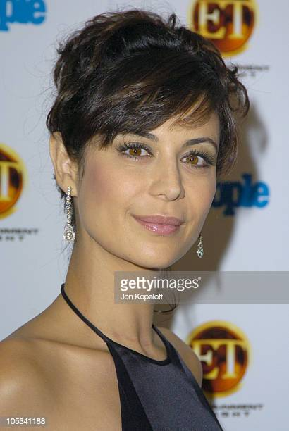 Catherine Bell during Entertainment Tonight Emmy Party Sponsored by People Magazine Arrivals at The Mondrian in West Hollywood California United...