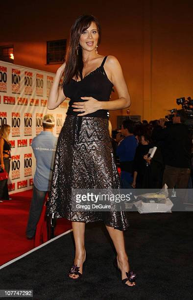 Catherine Bell during FHM Magazine Hosts The '100 Sexiest Women in the World' Party at Raleigh Studios in Hollywood California United States